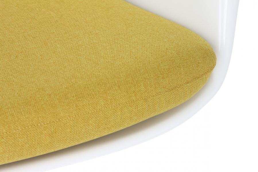 Cтул Tulip с подлокотниками и мягкой подушкой