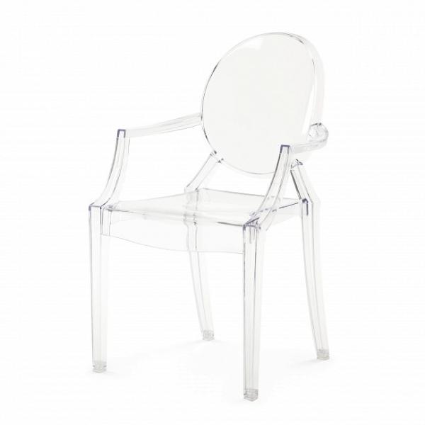 Стул Louis Ghost (прозрачный белый)