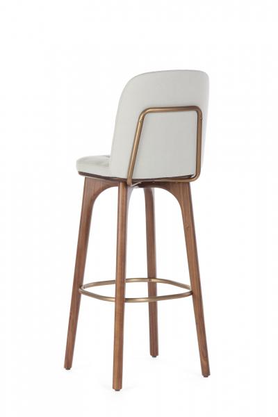 Барный стул Utility со спинкой высота 76