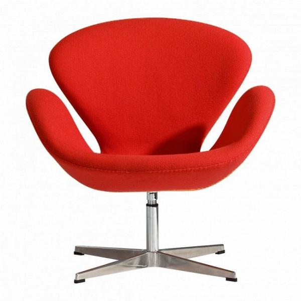 Кресло Swan (красный)