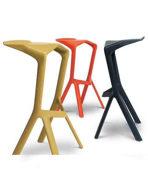 Барный стул Miura (красный)