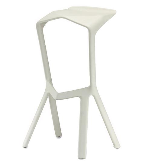 Барный стул Miura (белый)