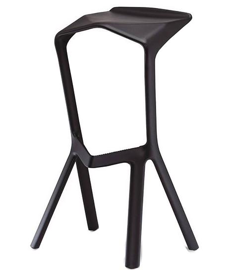 Барный стул Miura (черный)