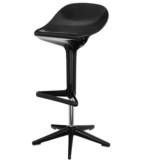 Барный стул Spoon (черный)