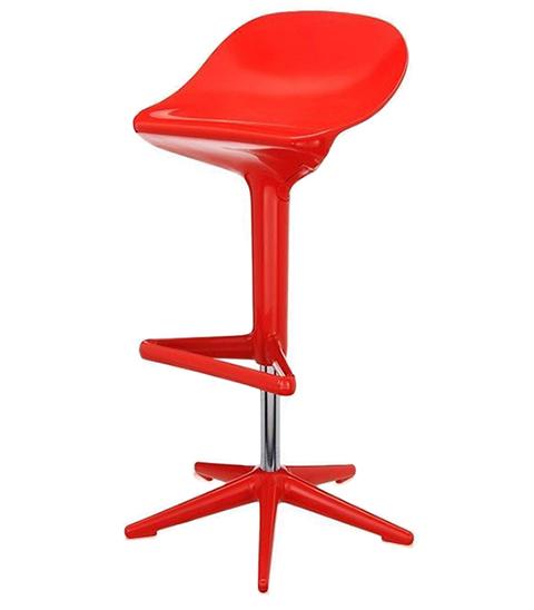 Барный стул Spoon (красный)
