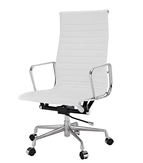 Кресло Eames Aluminium High (белый)