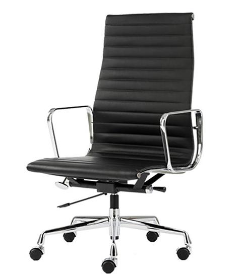 Кресло Eames Aluminium High (чёрный)
