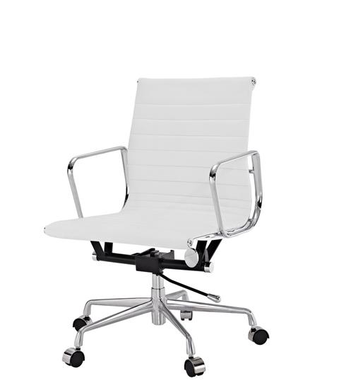 Кресло Eames Aluminium Management (белый)