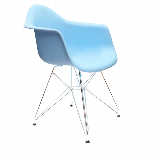 Стул Eames DAR (голубой)