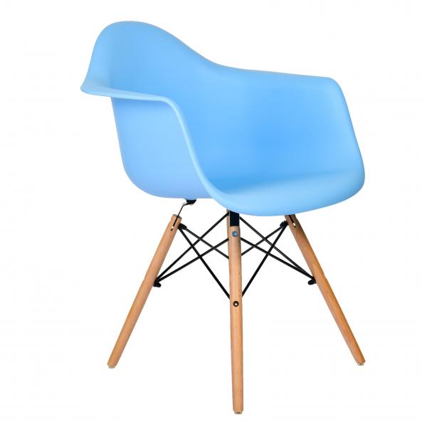 Стул Eames DAW (голубой)