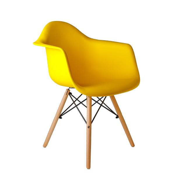 Стул Eames DAW (желтый)