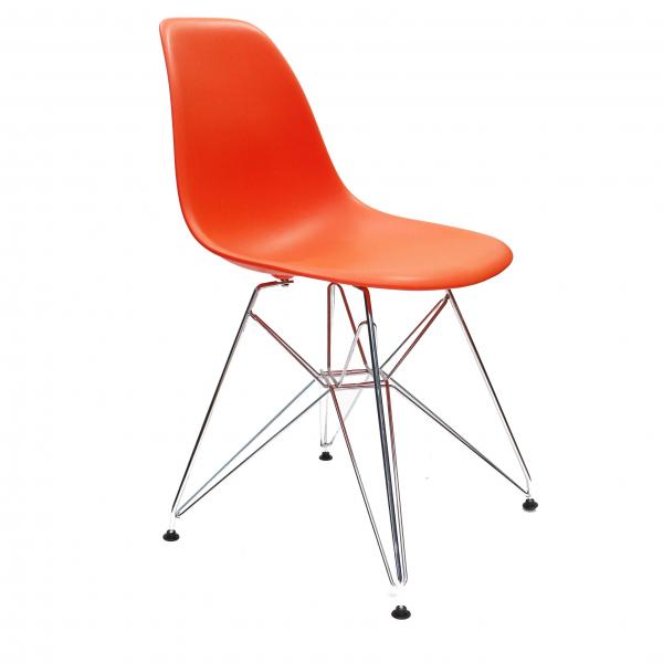Стул Eames DSR (оранжевый)