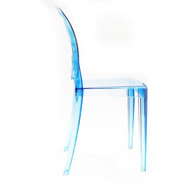 Стул Victoria Ghost (голубой)