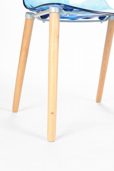 Стул Gauzy с деревянными ножками