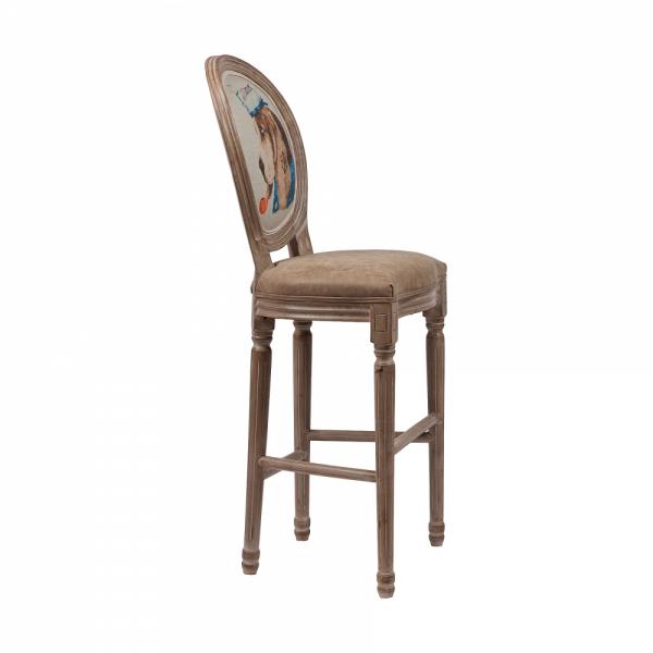 Барный стул с медальонной спинкой Sailor Dog
