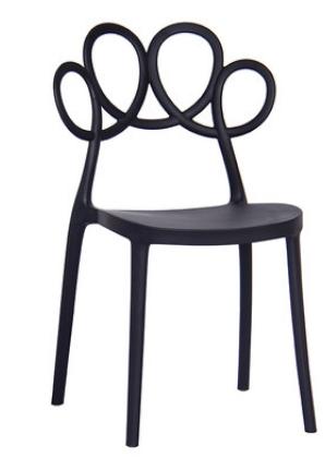 Кофейный стул Lorton Black