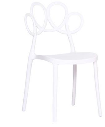 Кофейный стул Lorton White