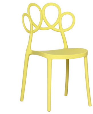 Кофейный стул Lorton Yellow