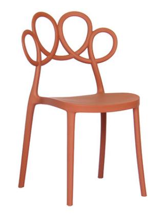 Кофейный стул Lorton Orange