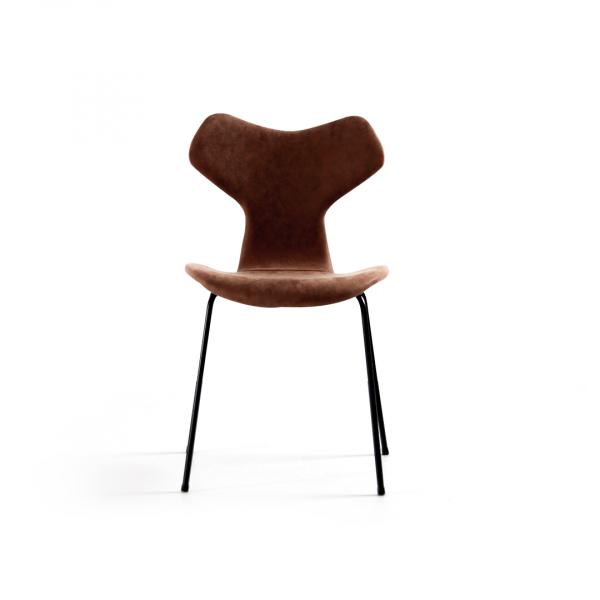 Кожаный обеденный стул Momo