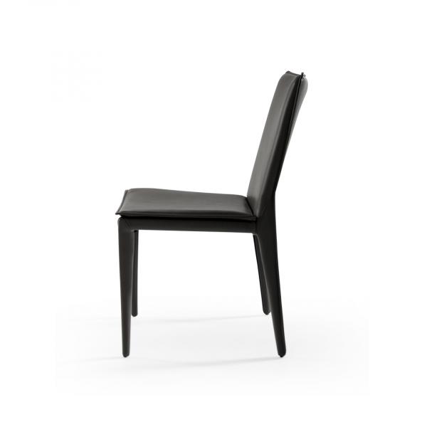 Черный обеденный стул Momo