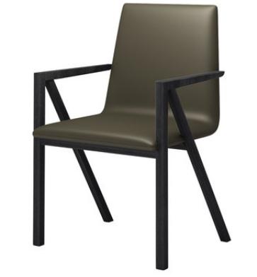 Кожаный стул Jianbu