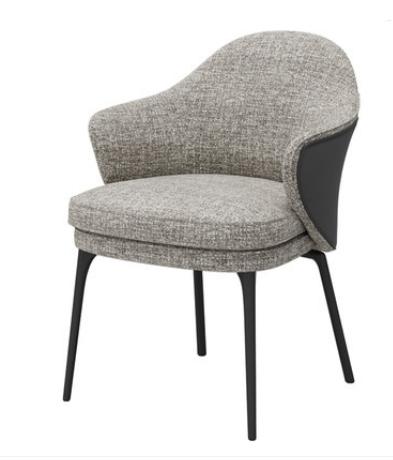 Серый стул Jianbu