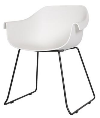 Пластиковый стул Senchuan White