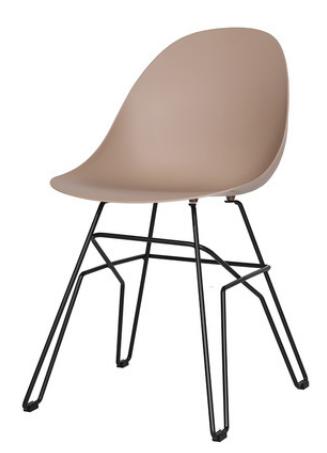 Пластиковый обеденный стул Sechuan
