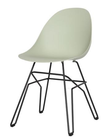 Пластиковый обеденный стул Sechuan Green