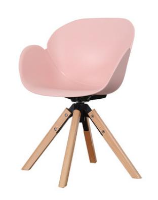 Розовый обеденный стул Senchuan
