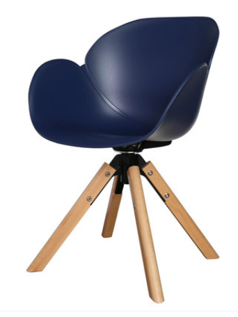 Синий обеденный стул Senchuan