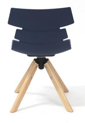 Индивидуальный обеденный стул Senchuan Blue