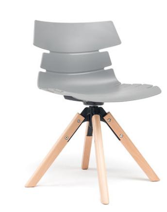 Индивидуальный обеденный стул Senchuan Grey