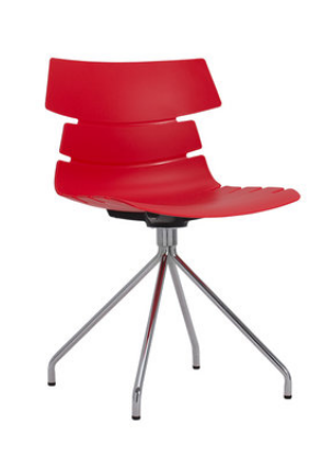 Простой компьютерный стул Red Senchuan