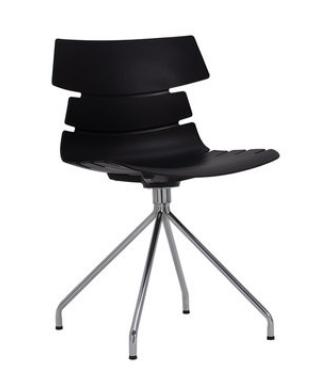Простой компьютерный стул Black Senchuan