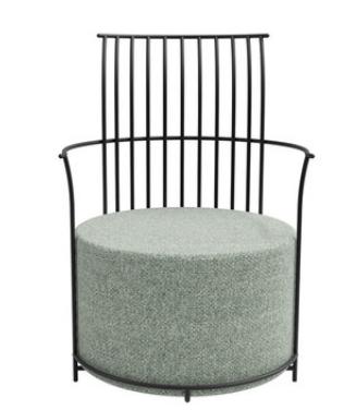 Одиночный стул Senchuan Green