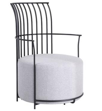 Одиночный стул Senchuan Pink