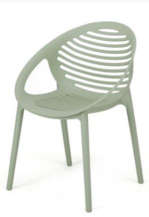 Зеленый пластиковый стул Senchuan