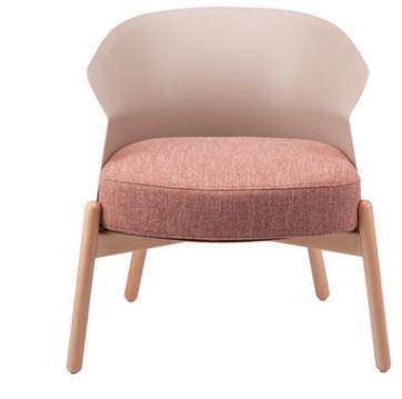 Розовый модный стул Senchuan