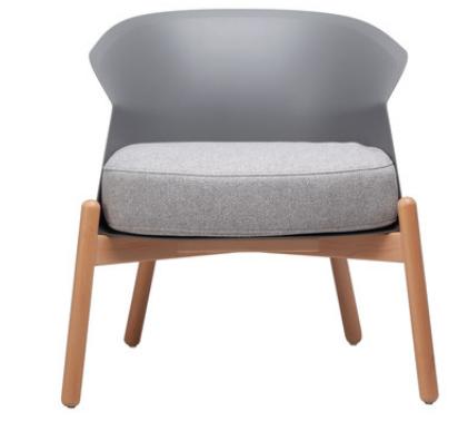 Серый модный стул Senchuan