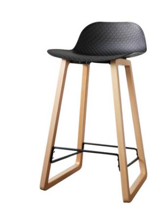Черный барный стул Sechuan