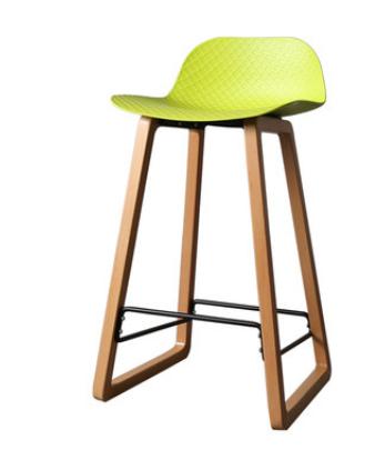 Желтый барный стул Sechuan