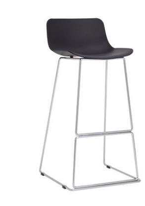 Высокий барный стул Senchuan Black