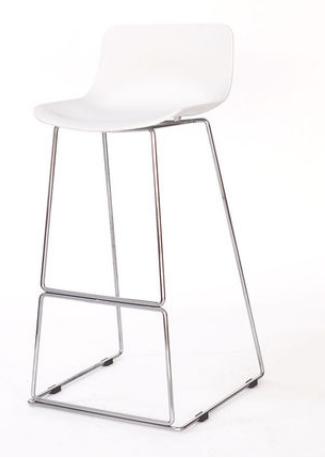 Высокий барный стул Senchuan White