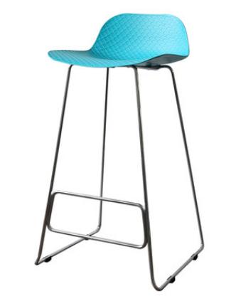 Простой барный стул Senchuan Blue