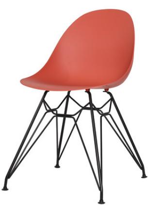 Обеденный пластиковый стул Orange