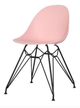 Обеденный пластиковый стул Pink