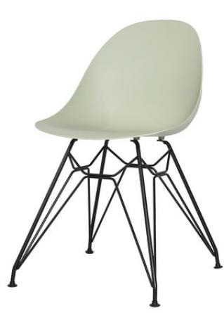 Обеденный пластиковый стул Green