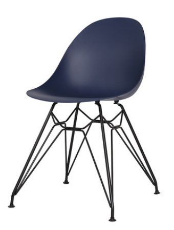 Обеденный пластиковый стул Blue